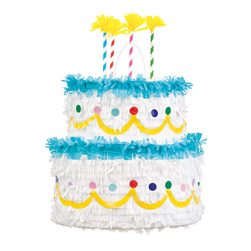 Birthday Cake 3D Pinata Product Image
