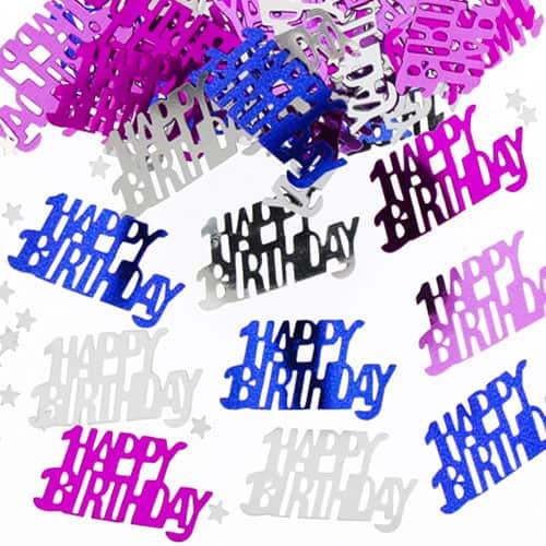 Birthday Girl Pink Table Confetti - 14 Grams