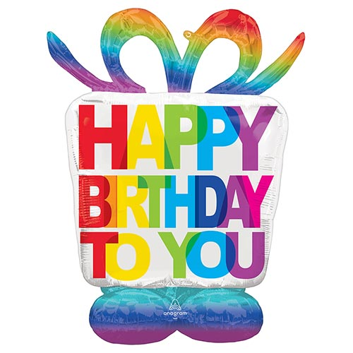 Birthday Present Airloonz Air Fill Giant Foil Balloon 127cm / 50 in Product Image