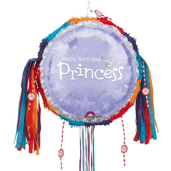 Birthday Princess Pull String Pinata