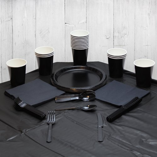 Black 14 Person Party Pack Product Image