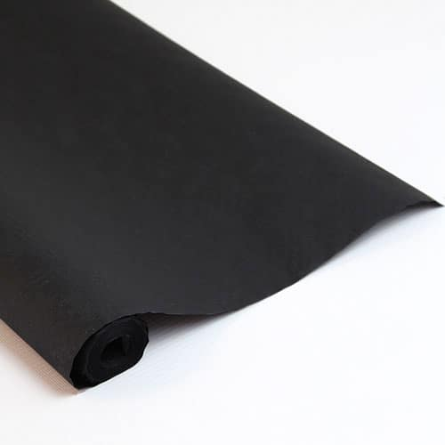 Black Paper Banquet Roll - 25m x 1.2m Product Image