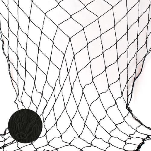 Black Fish Netting - 4 x 12 Ft / 122 x 366cm