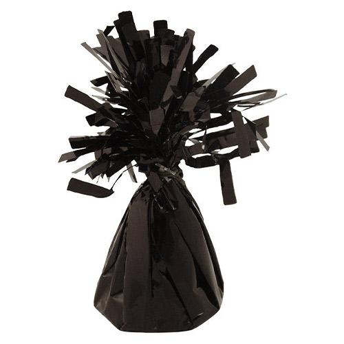 Black Foil Balloon Weight 160g