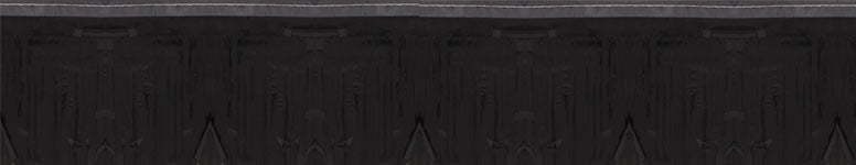 Black Metallic Fringe Garland - 18 Ft x 5 Inches / 549 x 13cm - Pack of 5 Product Image