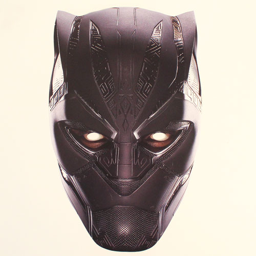 Black Panther Avengers Infinity War Cardboard Face Mask Product Image