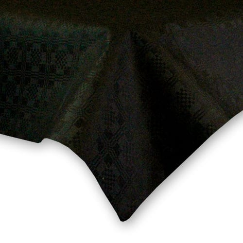 Black Paper Tablecover - 90cm x 90cm Product Image