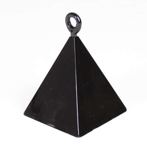 Black Pyramid Balloon Weight Product Image
