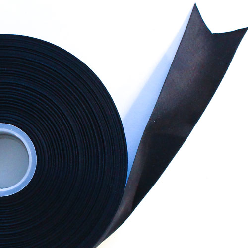 Black Satin Faced Ribbon Reel 38mm x 25m Product Image