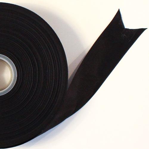 Black Satin Faced Ribbon Reel 38mm x 91m Product Image