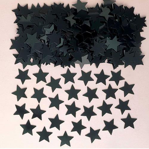 Black Stars Table Confetti 14 Grams