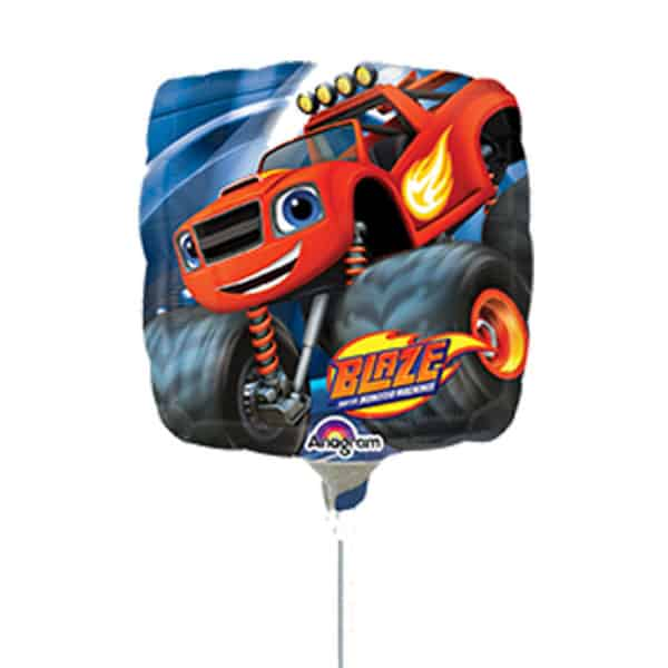 Blaze Square Foil Helium Balloon 46cm / 18Inch Product Image
