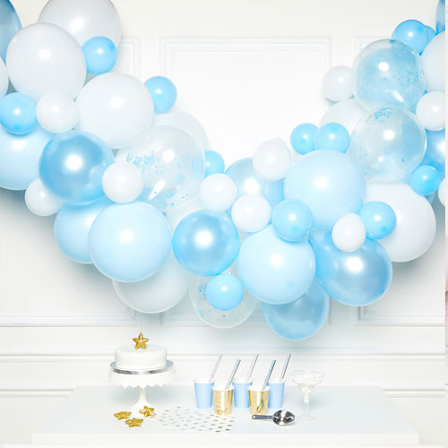 Blue DIY Garland Balloon Arch Kit