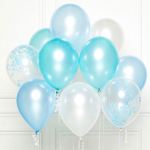 Blue DIY Latex Balloon Kit Product Image