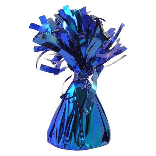 Blue Foil Balloon Weight 160g Product Image