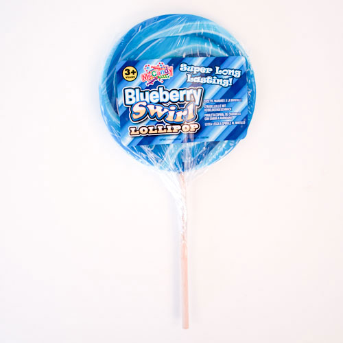 Blueberry Giant Candy Lolly Sweet 110 Grams