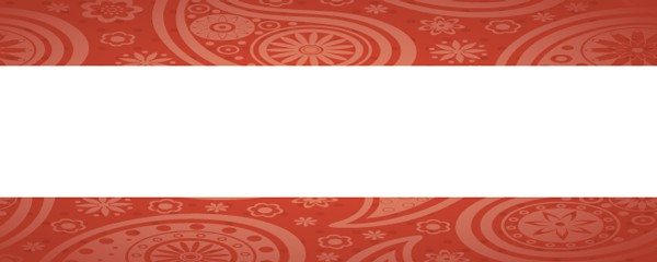 Bollywood Pattern Design Large Personalised Banner - 10ft x 4ft