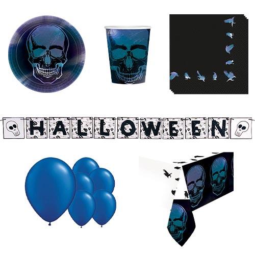 Halloween Boneshine Fever 8 Person Deluxe Party Pack