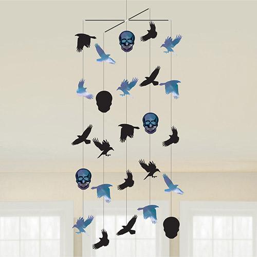 Boneshine Fever Halloween Ceiling Hanging Decoration 100cm Product Image