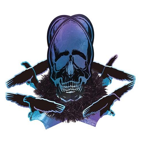Boneshine Fever Halloween Centrepiece Table Decoration 36cm Product Image