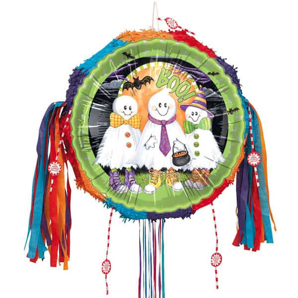 Boo Ghosts Pull String Pinata