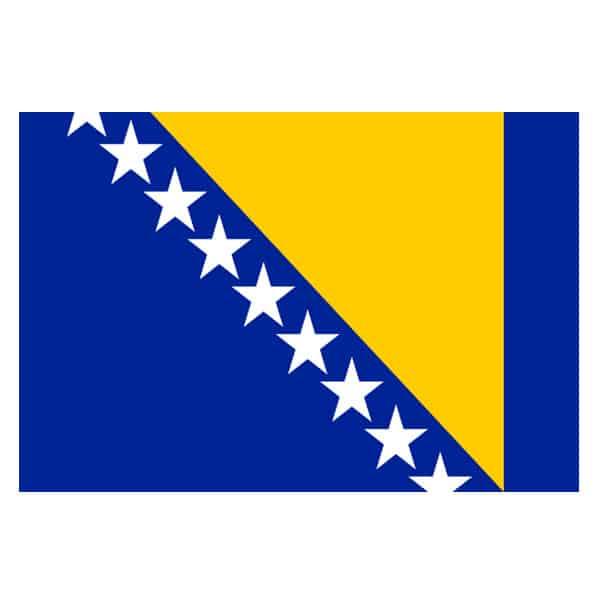 Bosnia and Herzegovina Flag - 5 x 3 Ft Product Image
