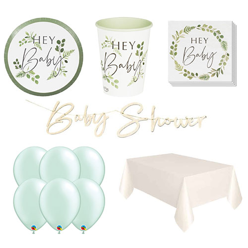 Botanical Baby 8 Person Deluxe Party Pack