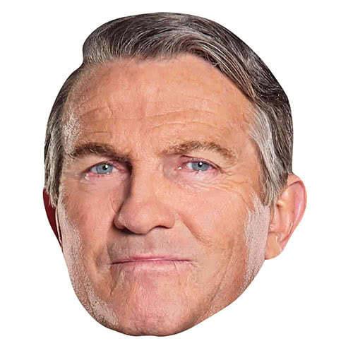Bradley Walsh Graham Doctor Who Cardboard Face Mask Product Image