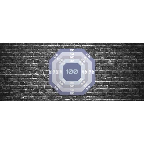 Brick Nurf Target PVC Party Sign Decoration 60cm x 25cm Product Image