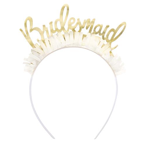 Bridesmaid Hen Party Headbands - Pack of 4