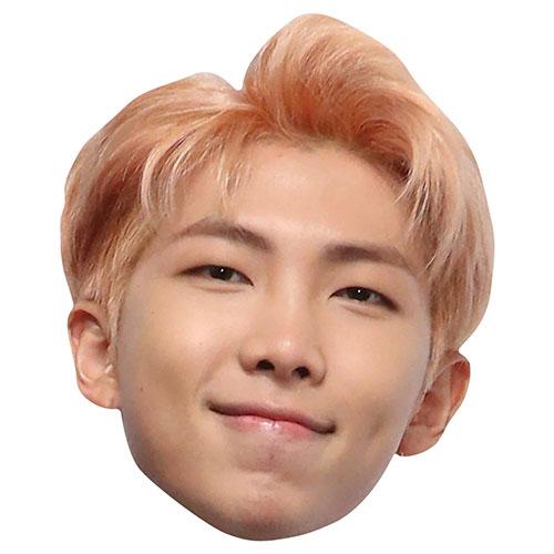 BTS K-Pop RM Kim Nam-joon Cardboard Face Mask Product Image