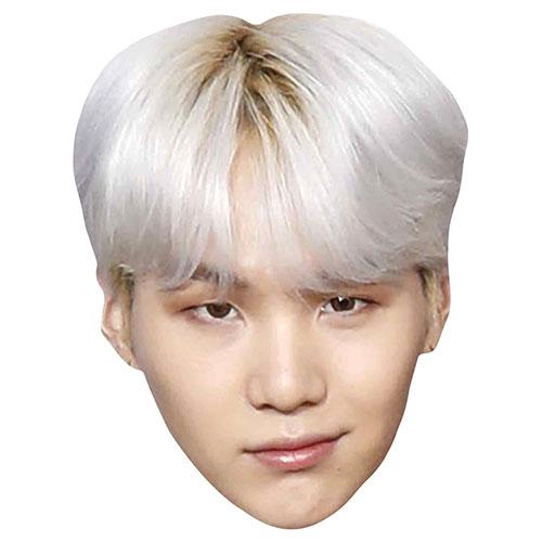 BTS K-Pop Suga Min Yoon-gi Cardboard Face Mask Product Image