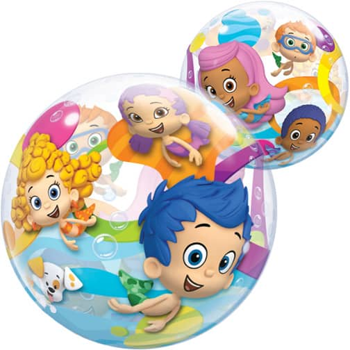 Bubble Guppies Bubble Helium Qualatex Balloon 56cm / 22 in Product Image