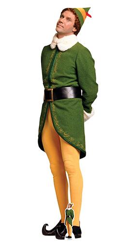 Buddy Elf Waiting For Christmas Lifesize Cardboard Cutout 188cm Product Image