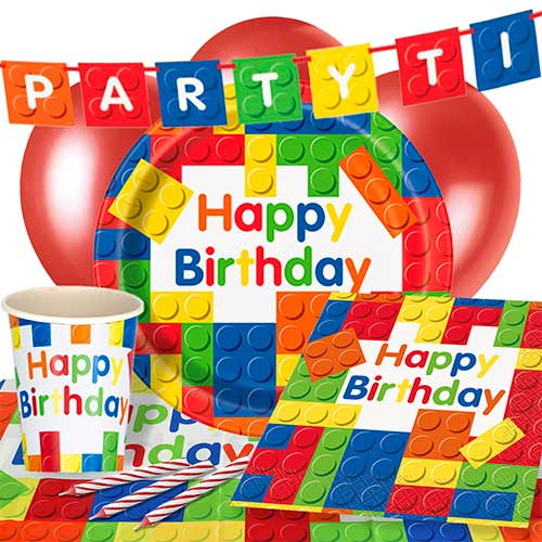 Building Blocks 8 Person Deluxe Party Pack Product Image