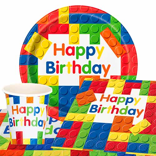 Building Blocks 8 Person Value Party Pack Product Image