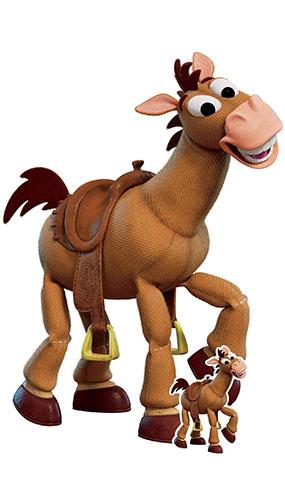 Bullseye Toy Horse Toy Story 4 Lifesize Cardboard Cutout 134cm Product Image