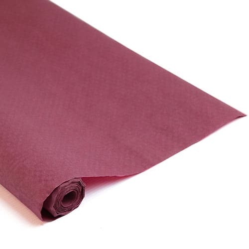 Burgundy Paper Banquet Roll - 25m x 1.2m Product Image