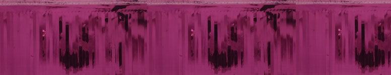 Burgundy Metallic Fringe Garland - 18 Ft x 5 Inches / 549 x 13cm