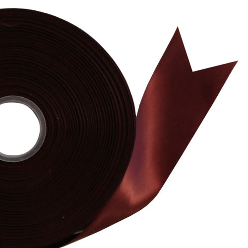 Burgundy Satin Faced Ribbon Reel 45mm x 100m Product Image