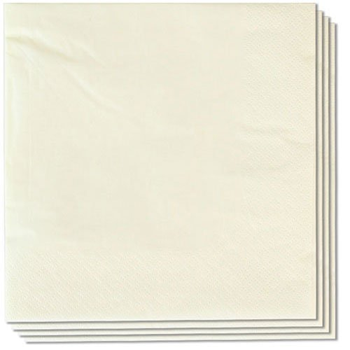 Butter Cream Napkins 40cm 2Ply - Pack of 100 Product Image