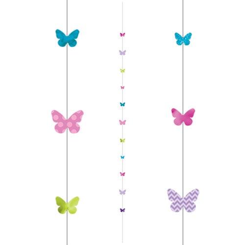 Butterflies Fun String Balloon Tail 182cm