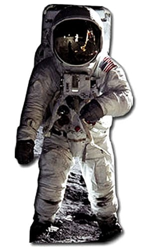 Buzz Aldrin Lifesize Cardboard Cutout - 182cm Product Image