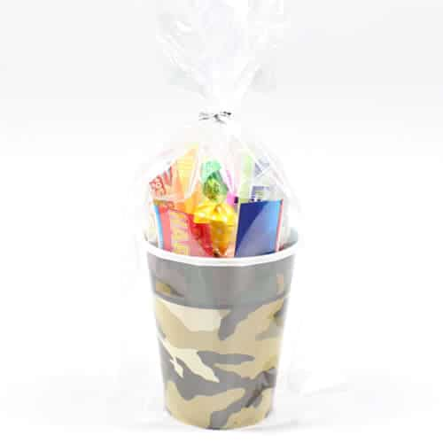 Camouflage Candy Cup