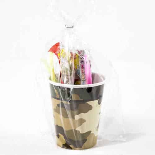 Camouflage Toy And Candy Cup