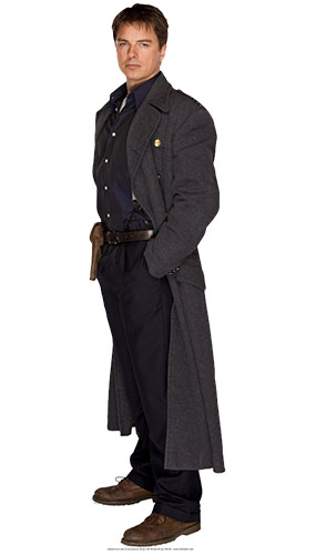 Dr Who Captain Jack Harkness Lifesize Cardboard Cutout - 182cm Product Image