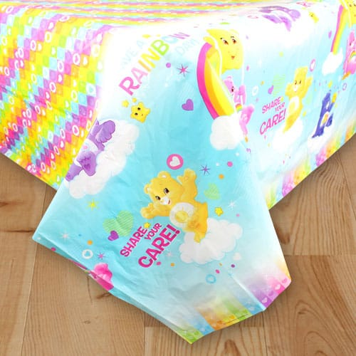 Care Bears Plastic Tablecover 183cm x 138cm