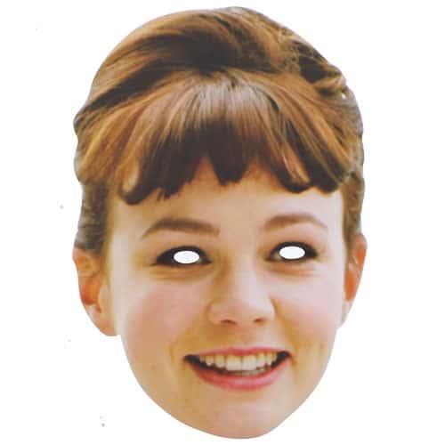 Carey Mulligan Celebrity Cardboard Mask - Single Product Image