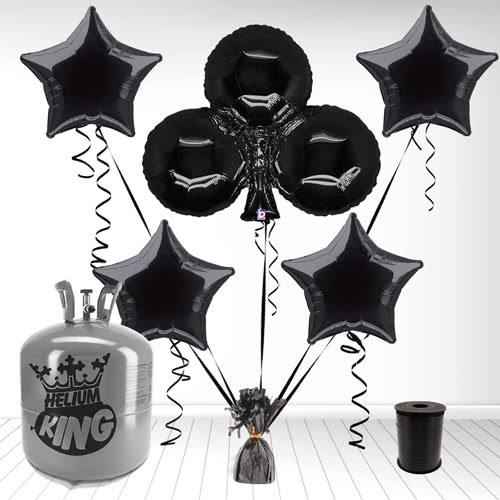 Casino Clubs Supershape Foil Balloon and Helium Gas Package Product Image