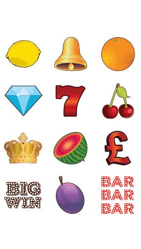 Casino Fruit Machine PVC Party Sign Decoration Sheet 82cm x 61cm Product Image